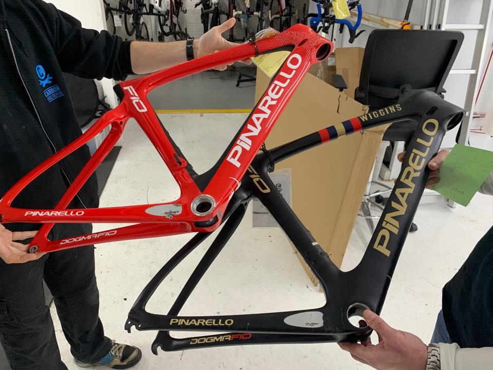 Replicas y bicicleta de segunda mano